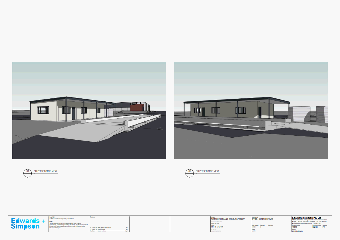 Office and Weighbridge design