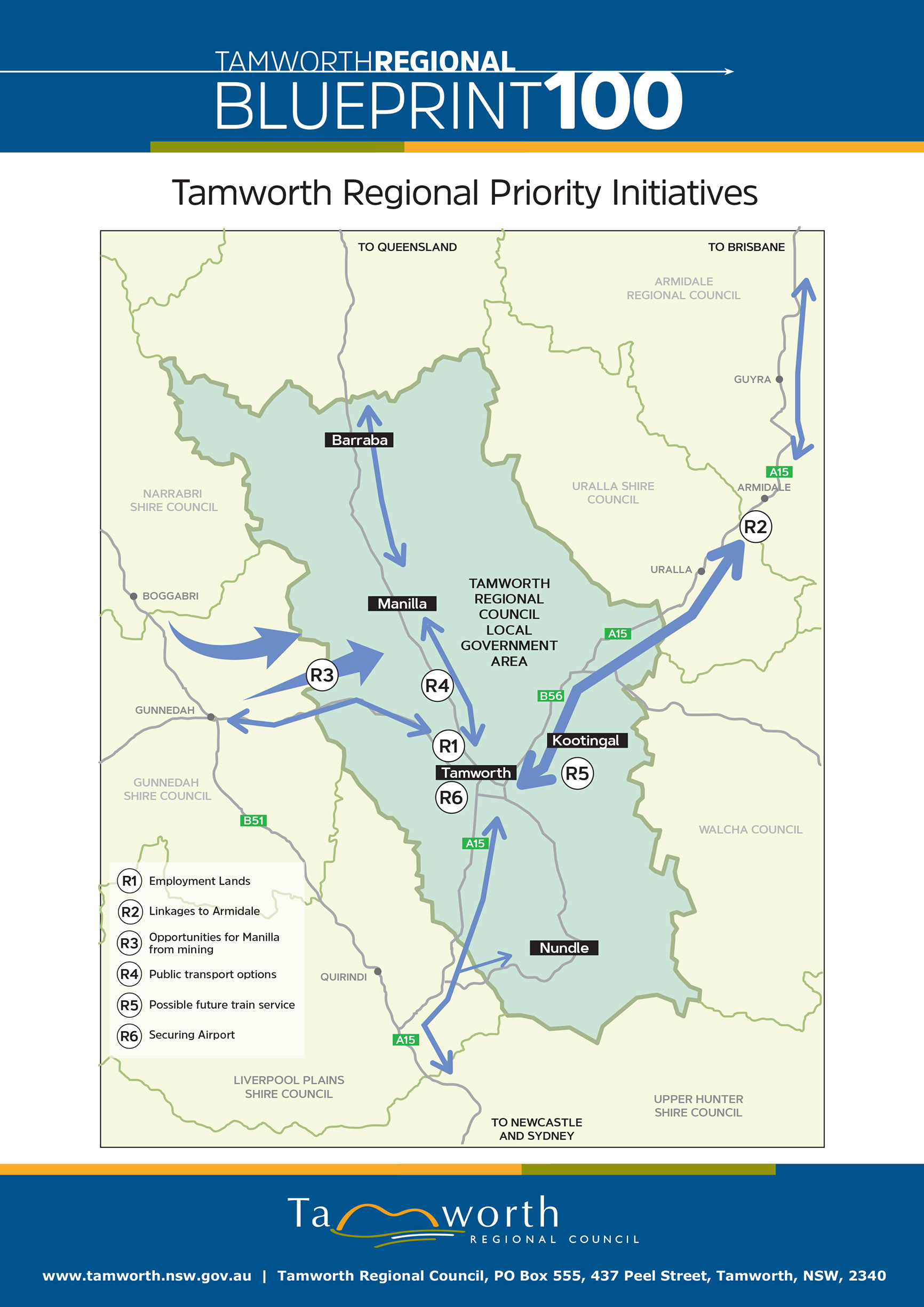 Tamworth Regional Priority Initiatives