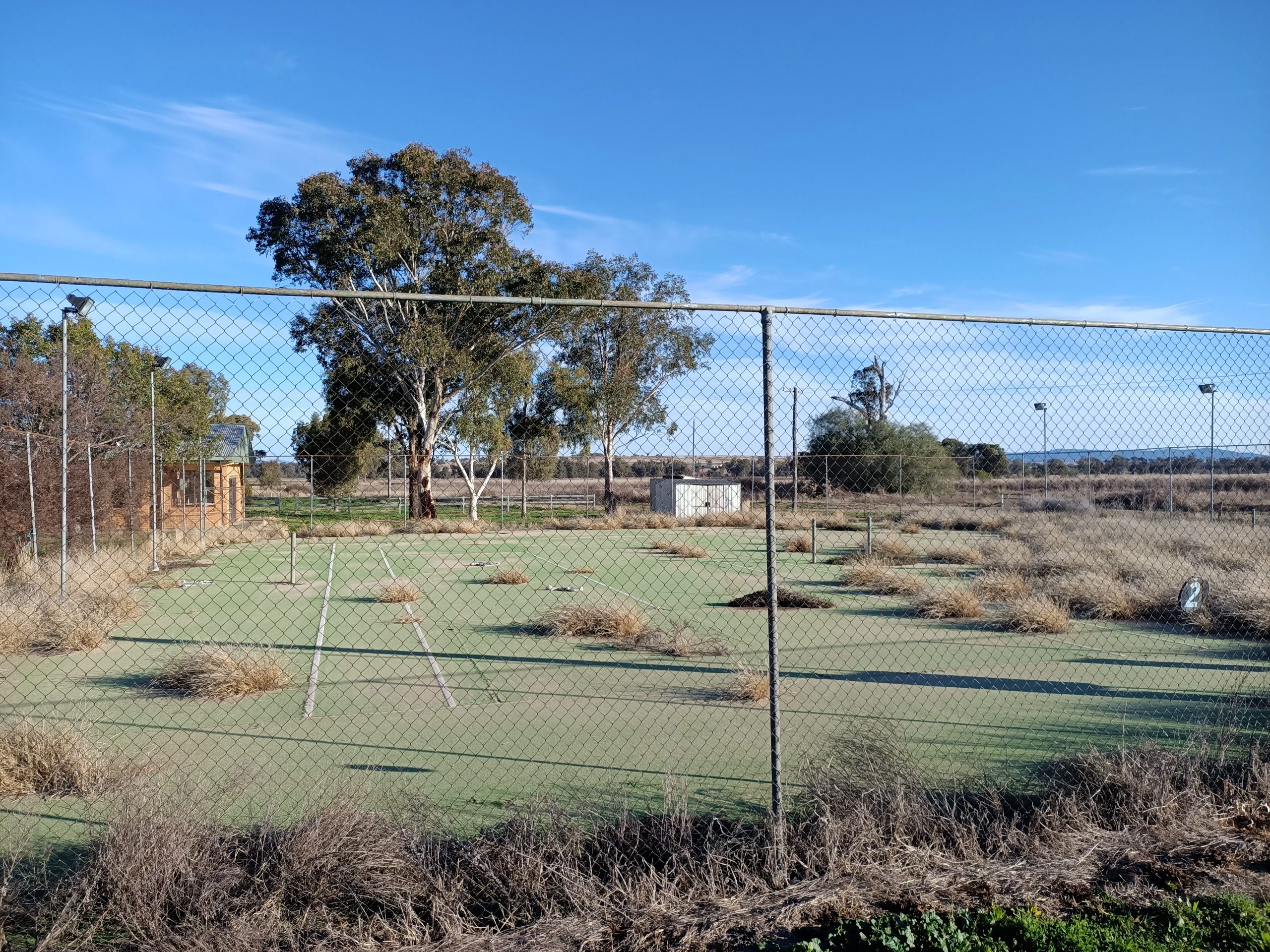 current tennis courts