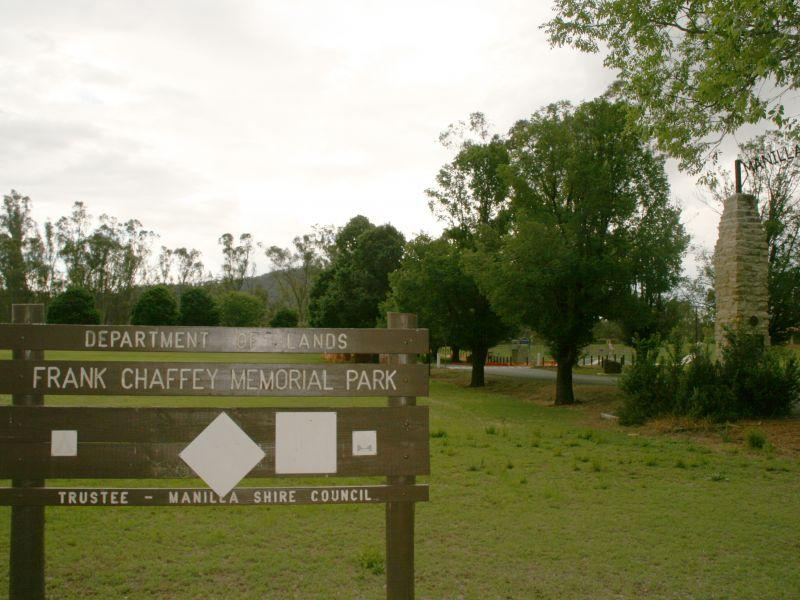 Chaffey Park signage