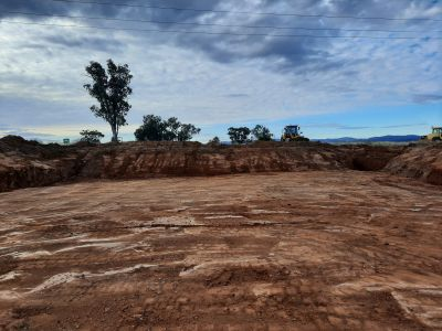 New winton road 5 cell culvert excavation for base slab