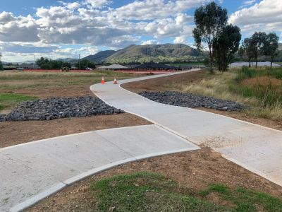 Calala Lane shared path - completed April 2020