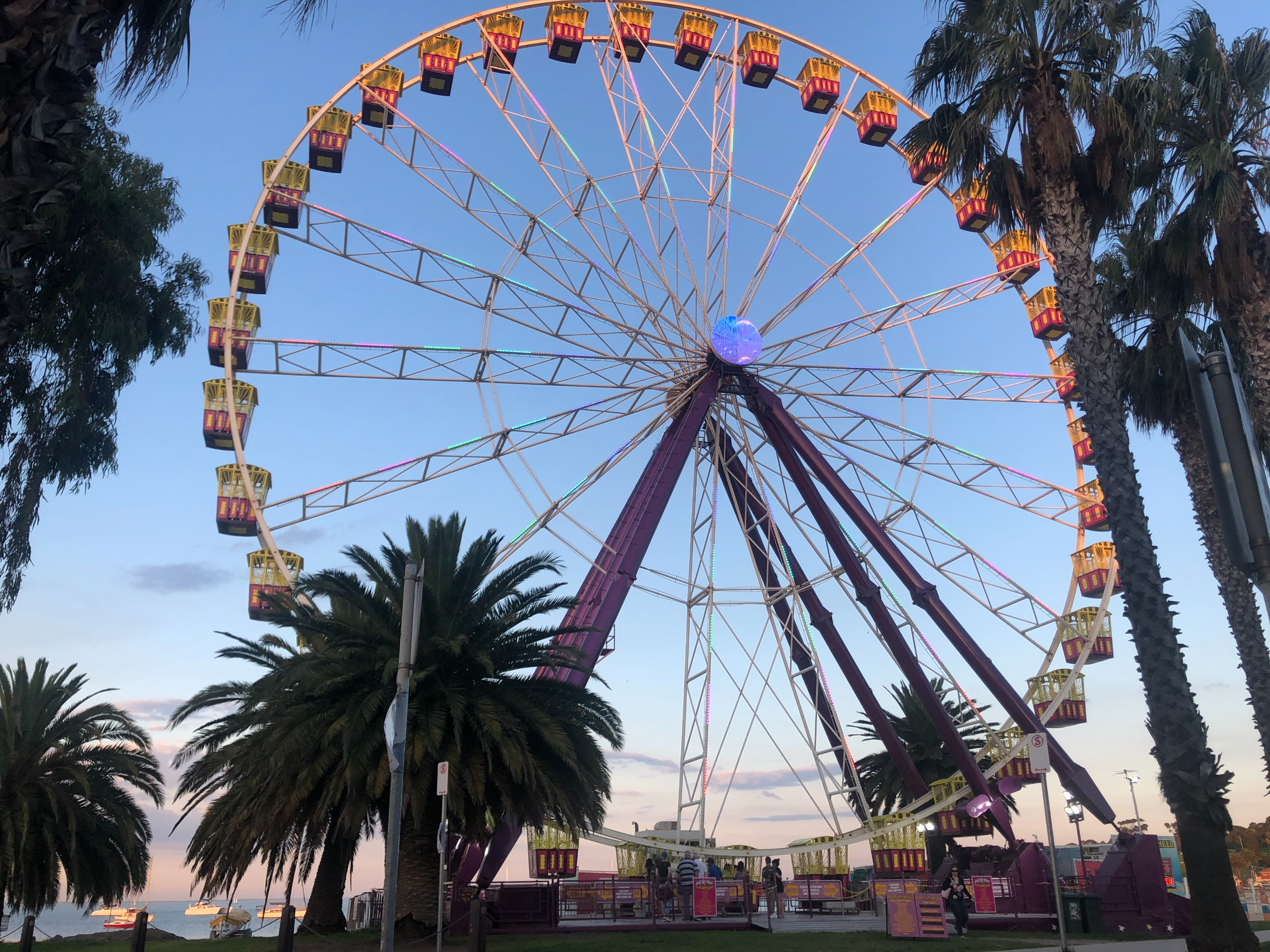 Photo of the Geelong waterfront