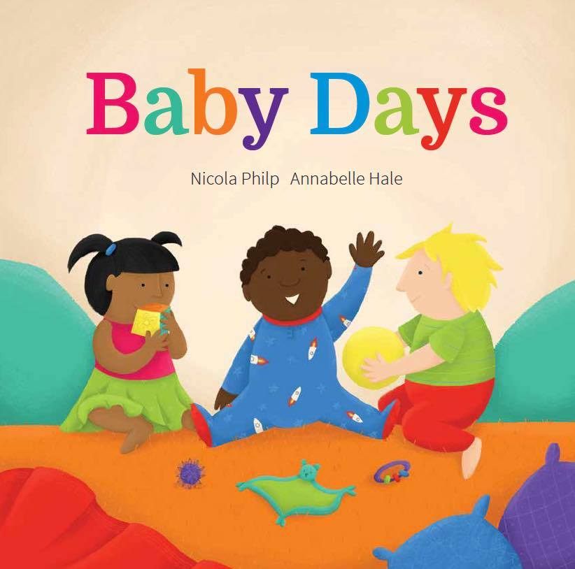 Baby days book cover