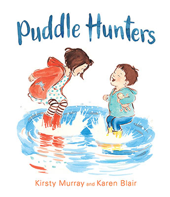 Puddle hunters book cover
