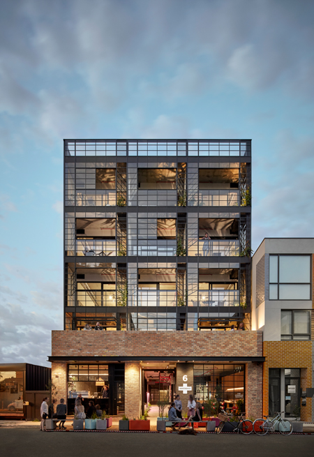 Image: Breathe Architecture's Nightingale Residential Housing Project
