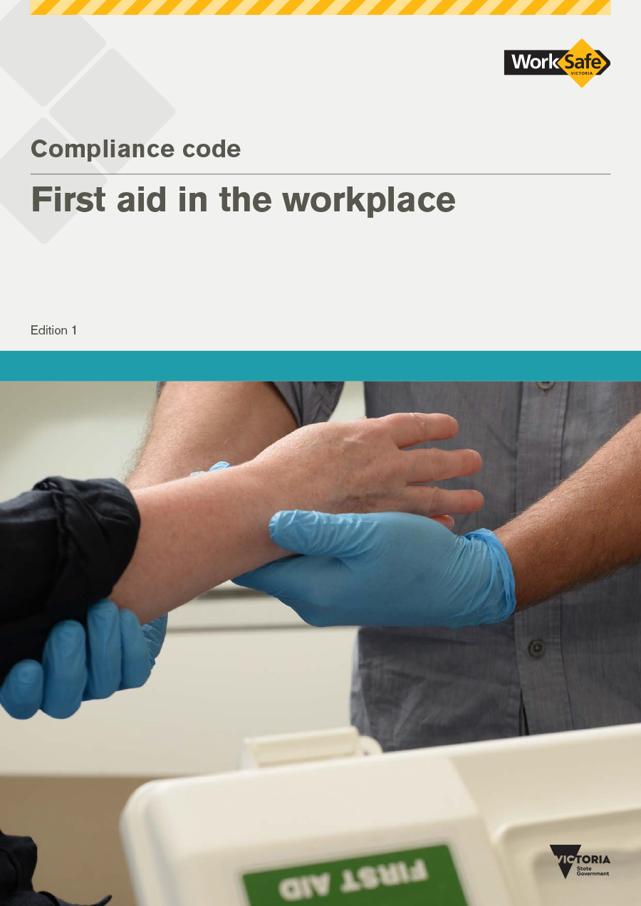 Image of the First aid in the workplace compliance code