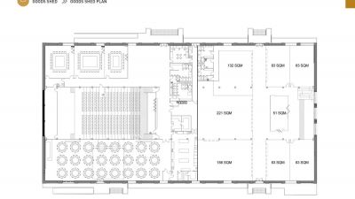 Goods Shed Plan