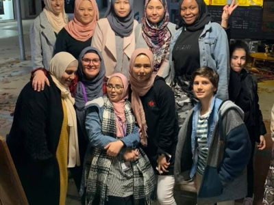 Group photo of participants in the Shepparton All Cultures Police Youth Committee