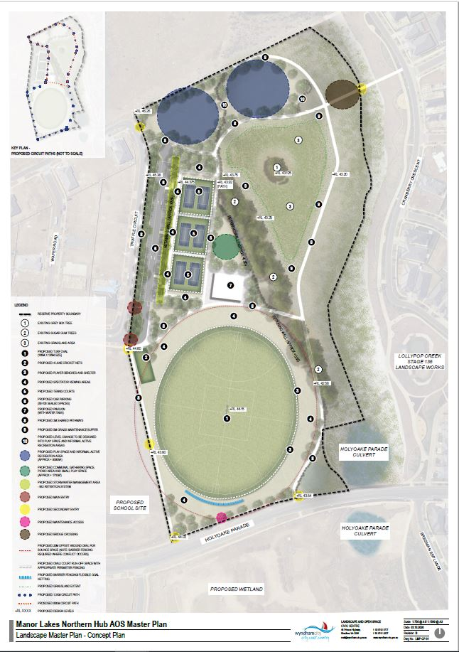 Manor Lakes North Active Open Space Concept Plan