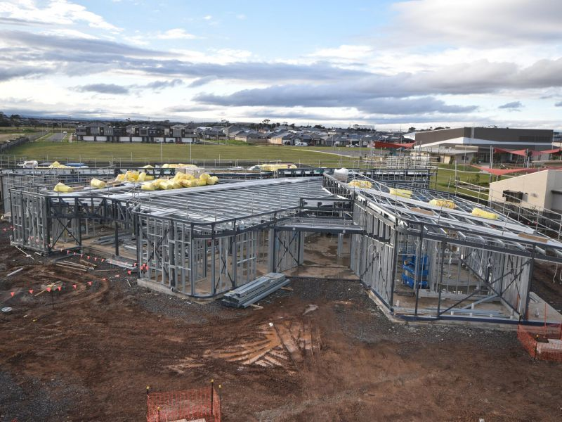 Build Site of the Truganina South Community Centre