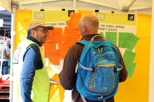 Gleadell Street Market listening post 5 November 2016