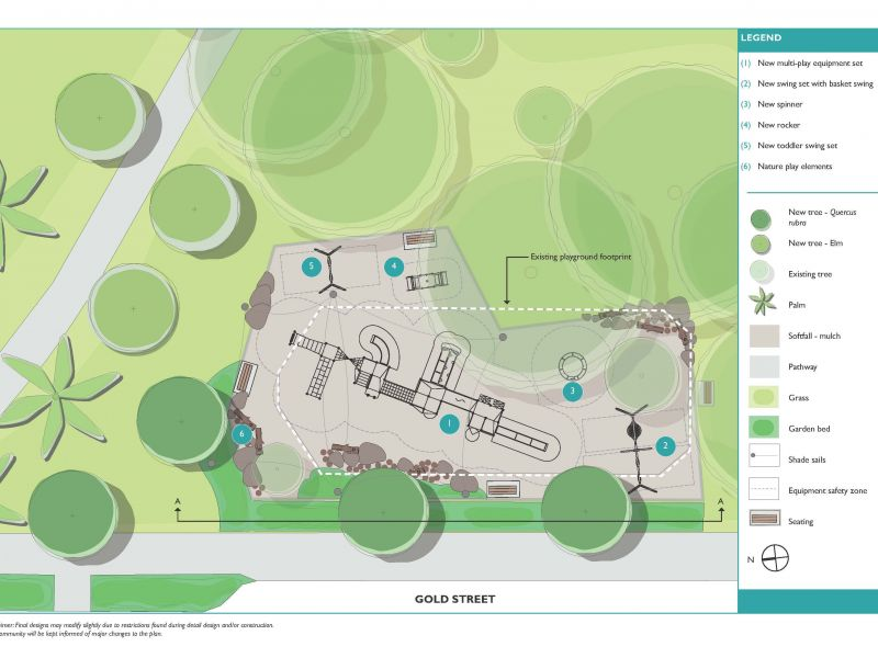 Darling Gardens Playground Final Concept Plan