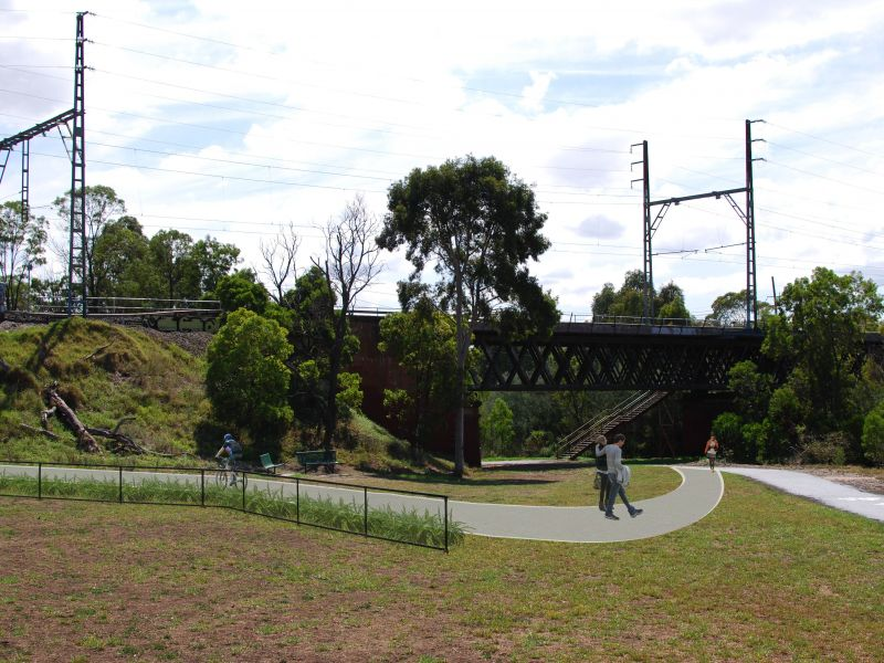 Artist Impression - View From Rushall Reserve To Holden Street
