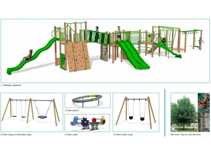 Darling Gardens Playground Elements