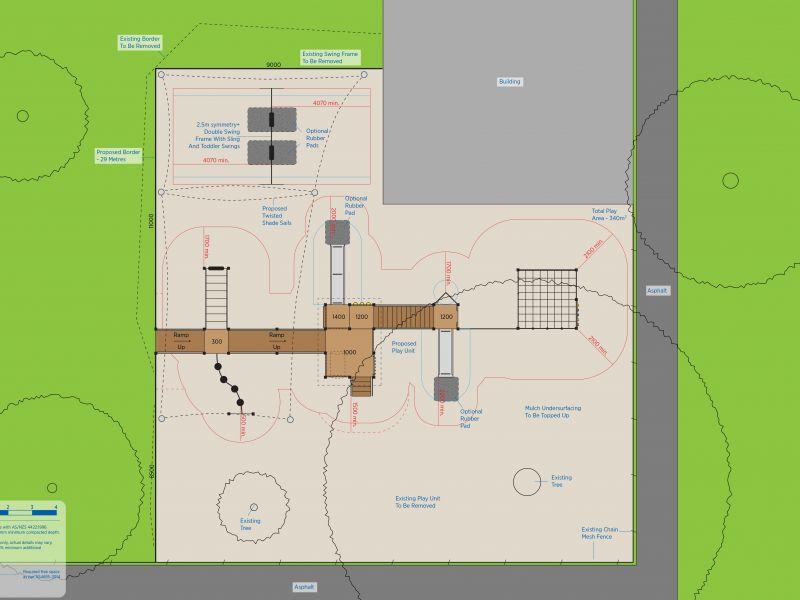 Site Plan Condell Street Reserve