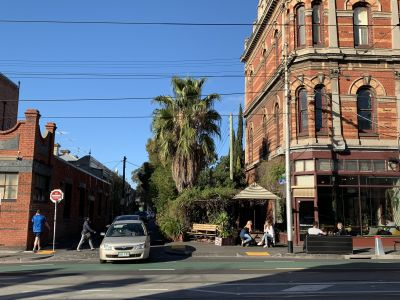 ​​Corner of Greeves Street and Brunswick Street