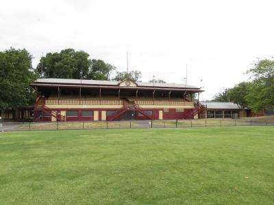 Brunswick Street Oval Grandstand