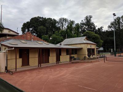 Sporting pavilion