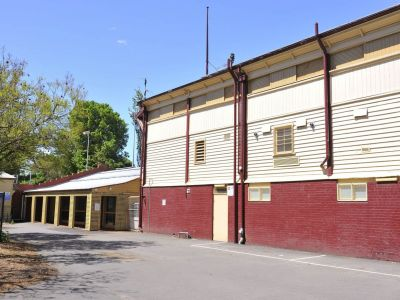 Ground floor of Fitzroy Cricket Ground Grandstand