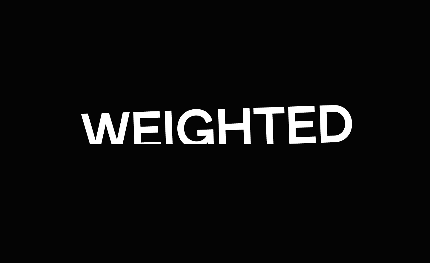 🗞️The Wrap: Weighted