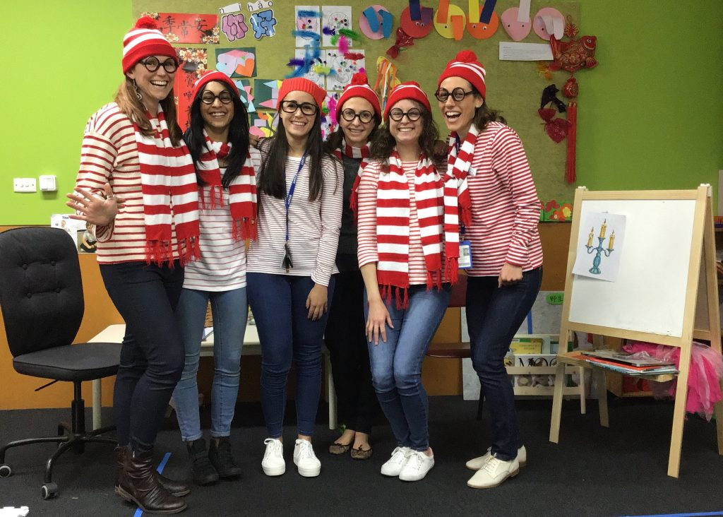 early-learning-book-week-parade-staff