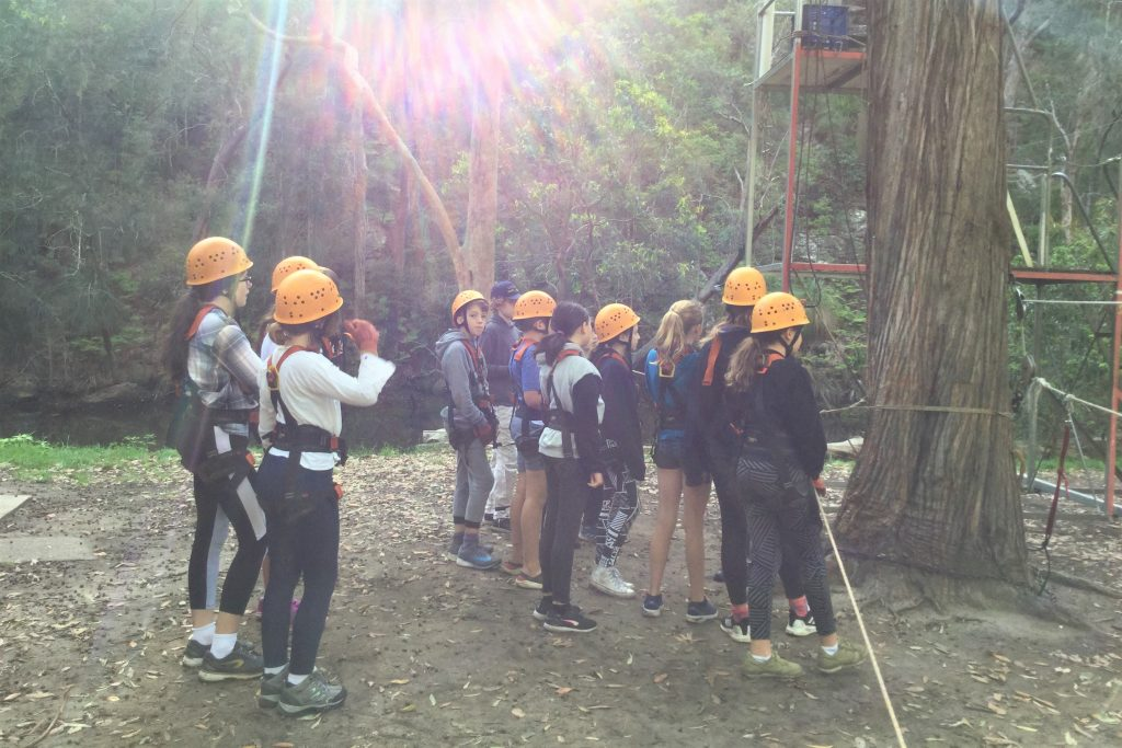 igs-year-6-camp-ropes-course