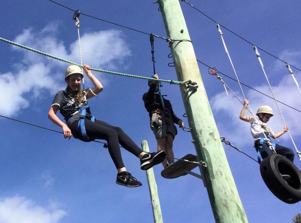 igs-year-5-camp-ropes