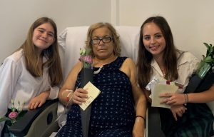 IGS students with Lifehouse patient Angel Sakr