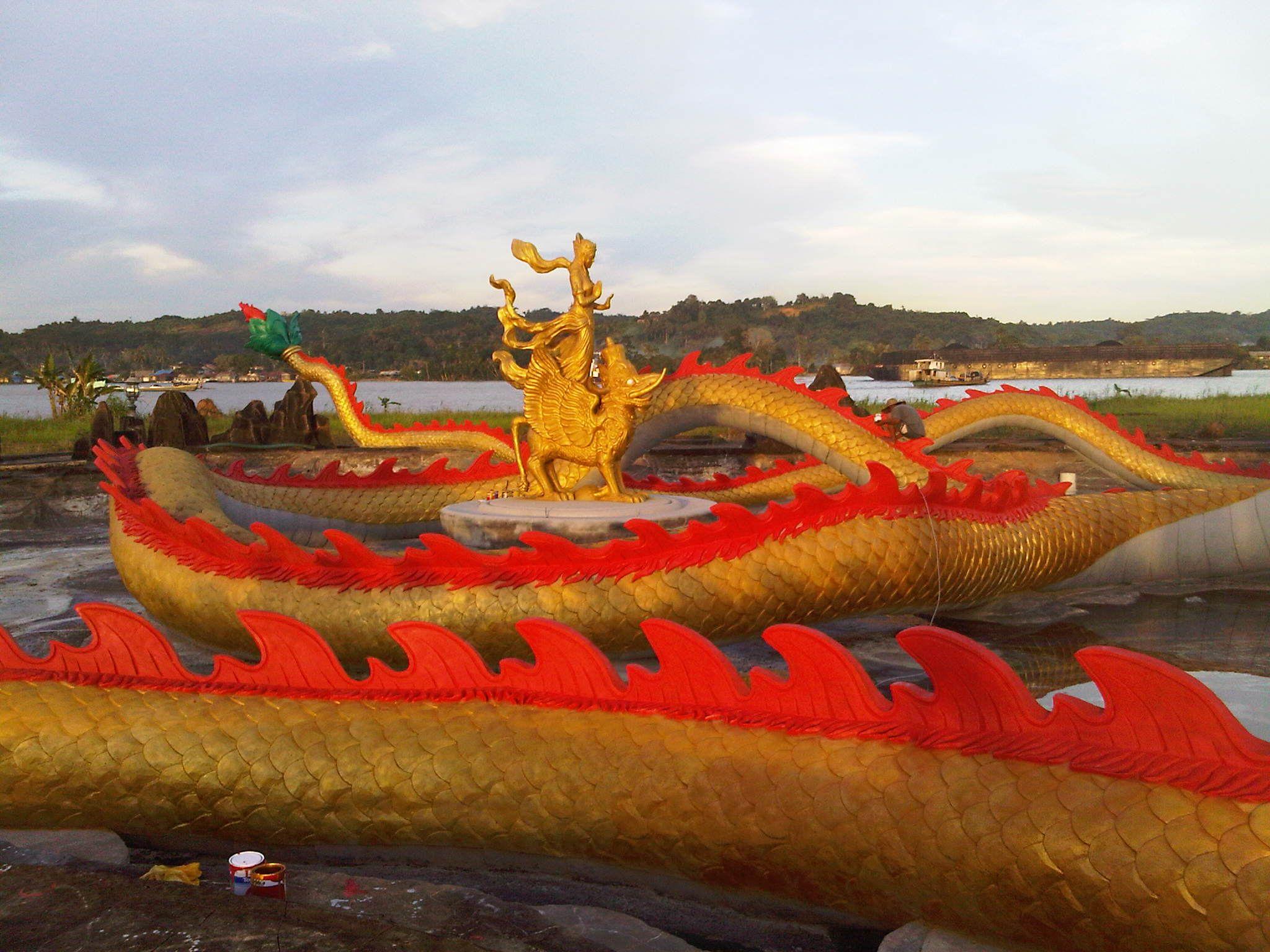 Wisata Tenggarong Kolam Naga