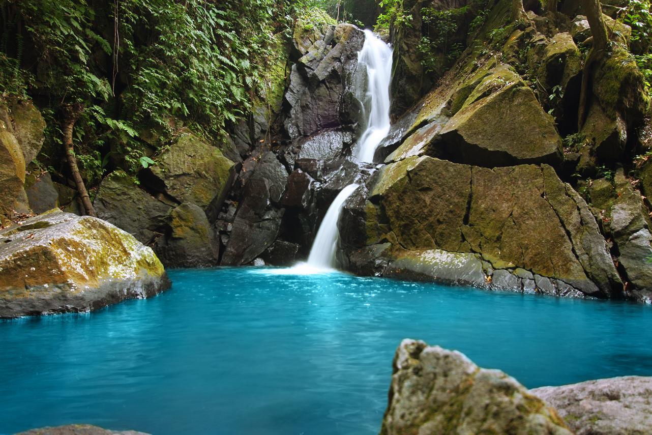 Rerebe Waterfall