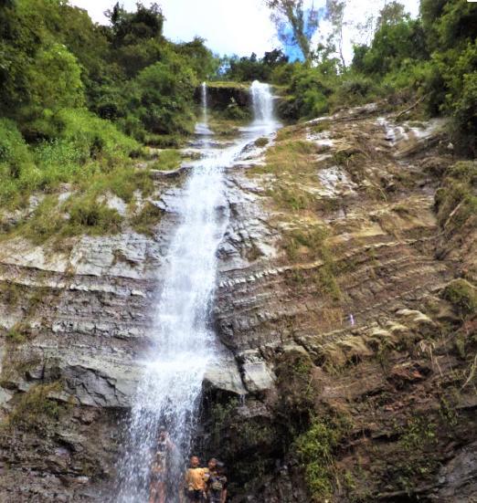 Grojogan Kali Bulan Waterfall