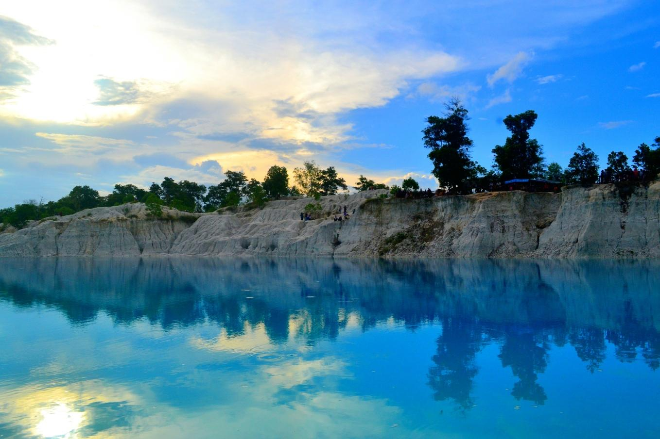 Kaolin Lake Belitung