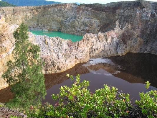 Kelimutu Lake (Tri-Color Lake)