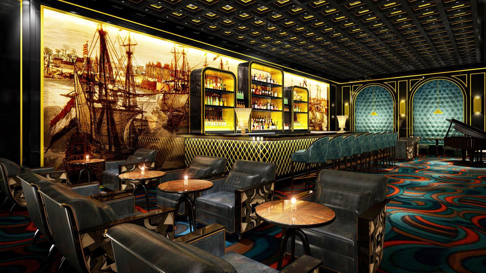 Nautilus Bar at Four Season Hotel