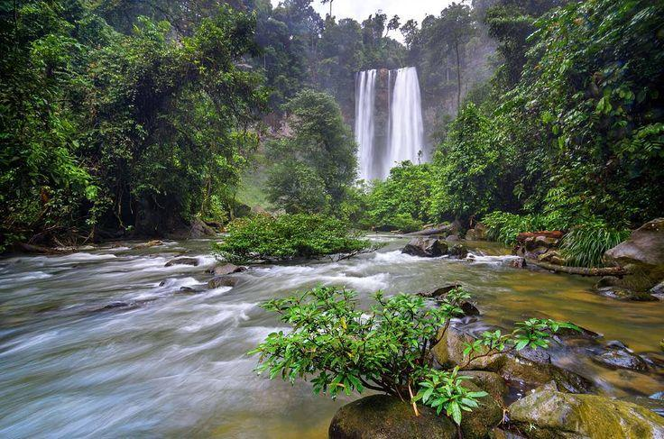 Riam Berawan Waterfall
