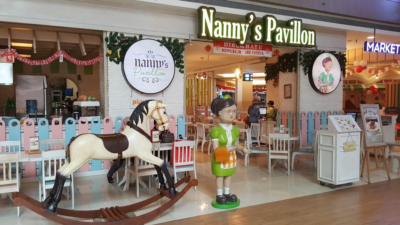 Nanny's Pavillon Playroom
