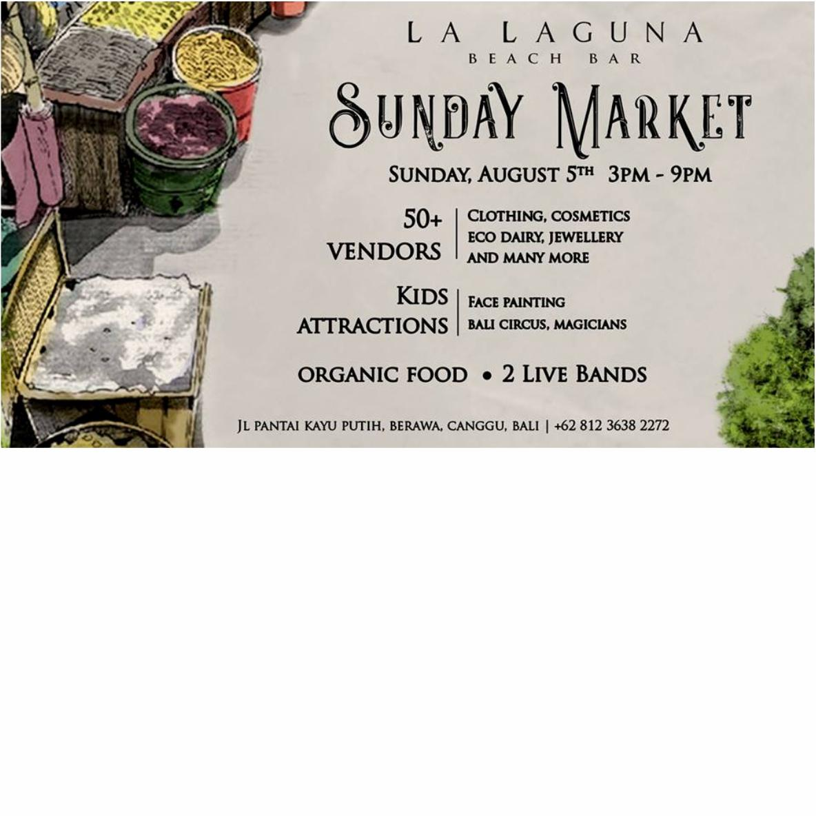 Sunday Market In La Laguna | TRAVLR Indonesia