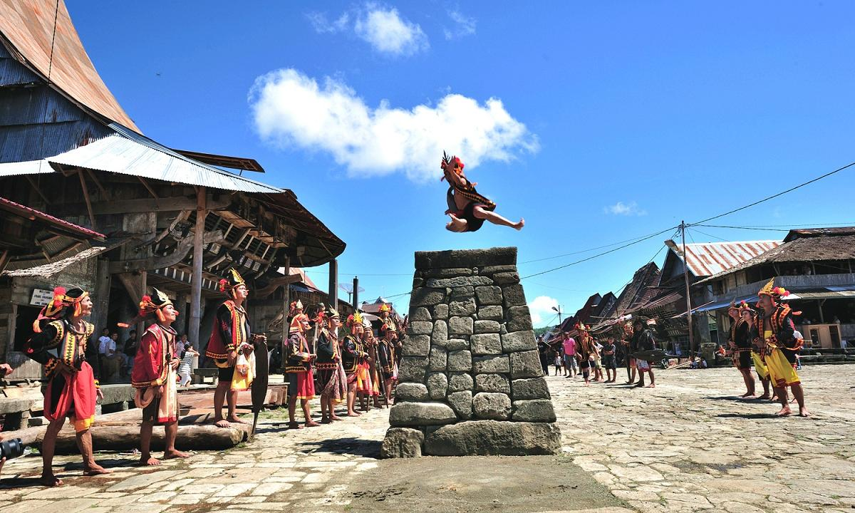 Stone Jumping Ceremony