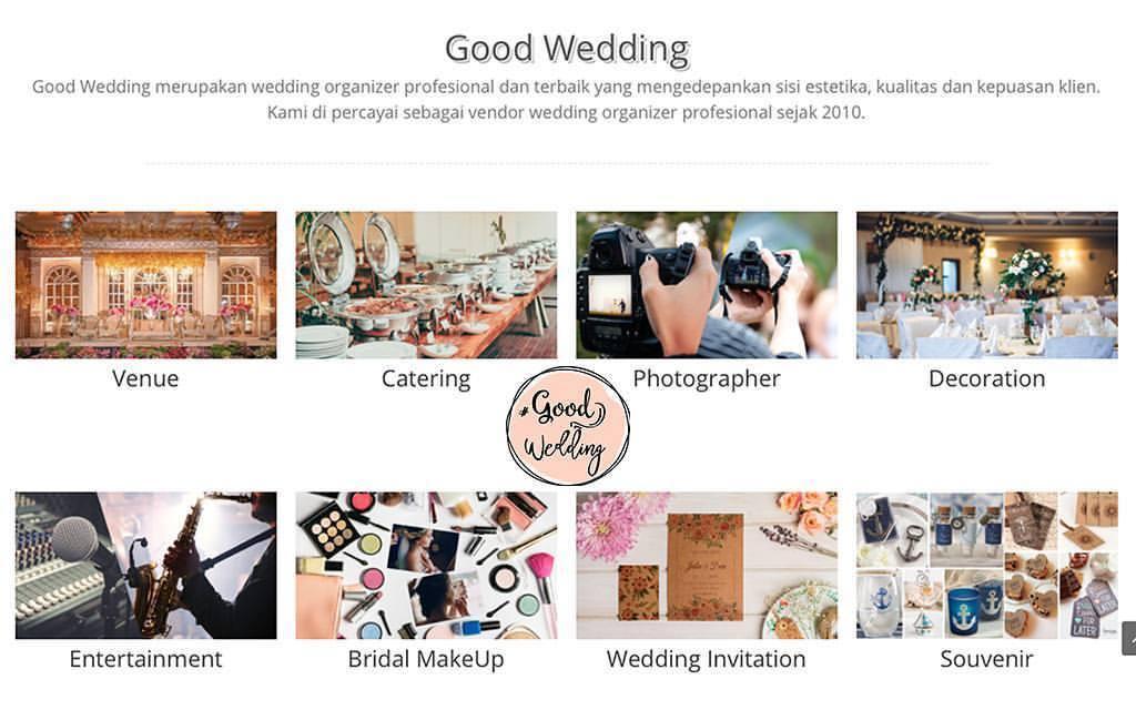 Jasa Wedding Organizer - Good Wedding Organizer