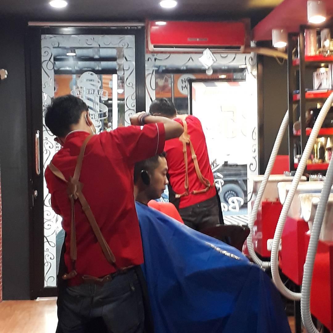 Charles Van Mocked Barbershop