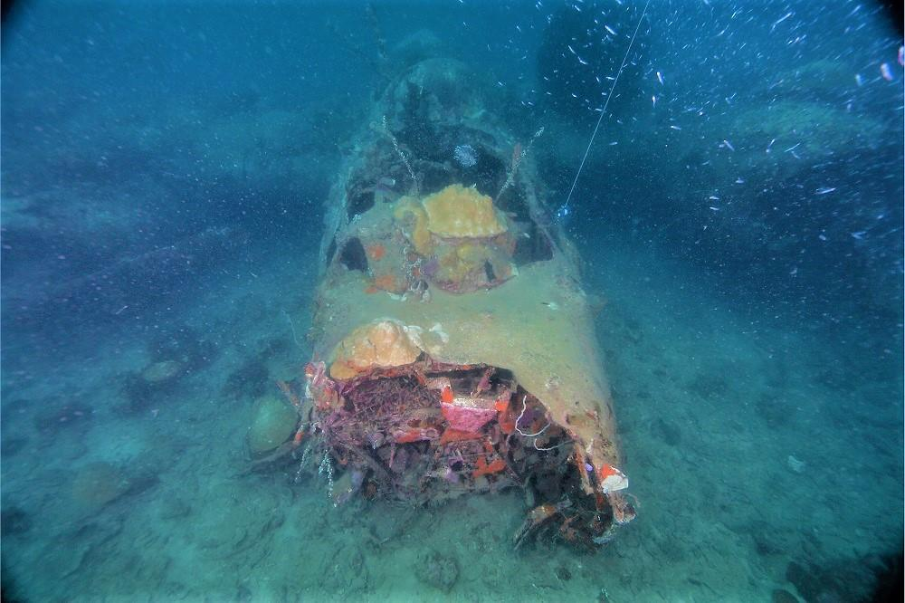 Bomber Wreck B-24 Dive Site