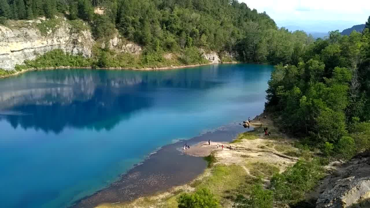 Sawahlunto Blue Lake