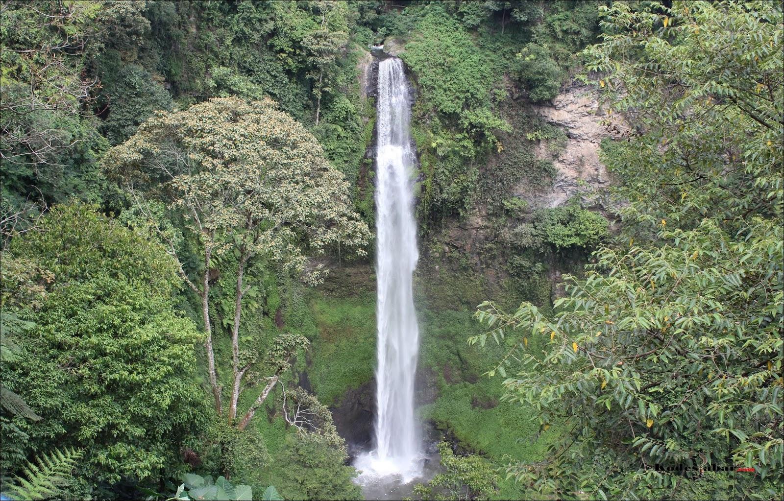 Curug Cimahi Rainbow Waterfalls Bandung