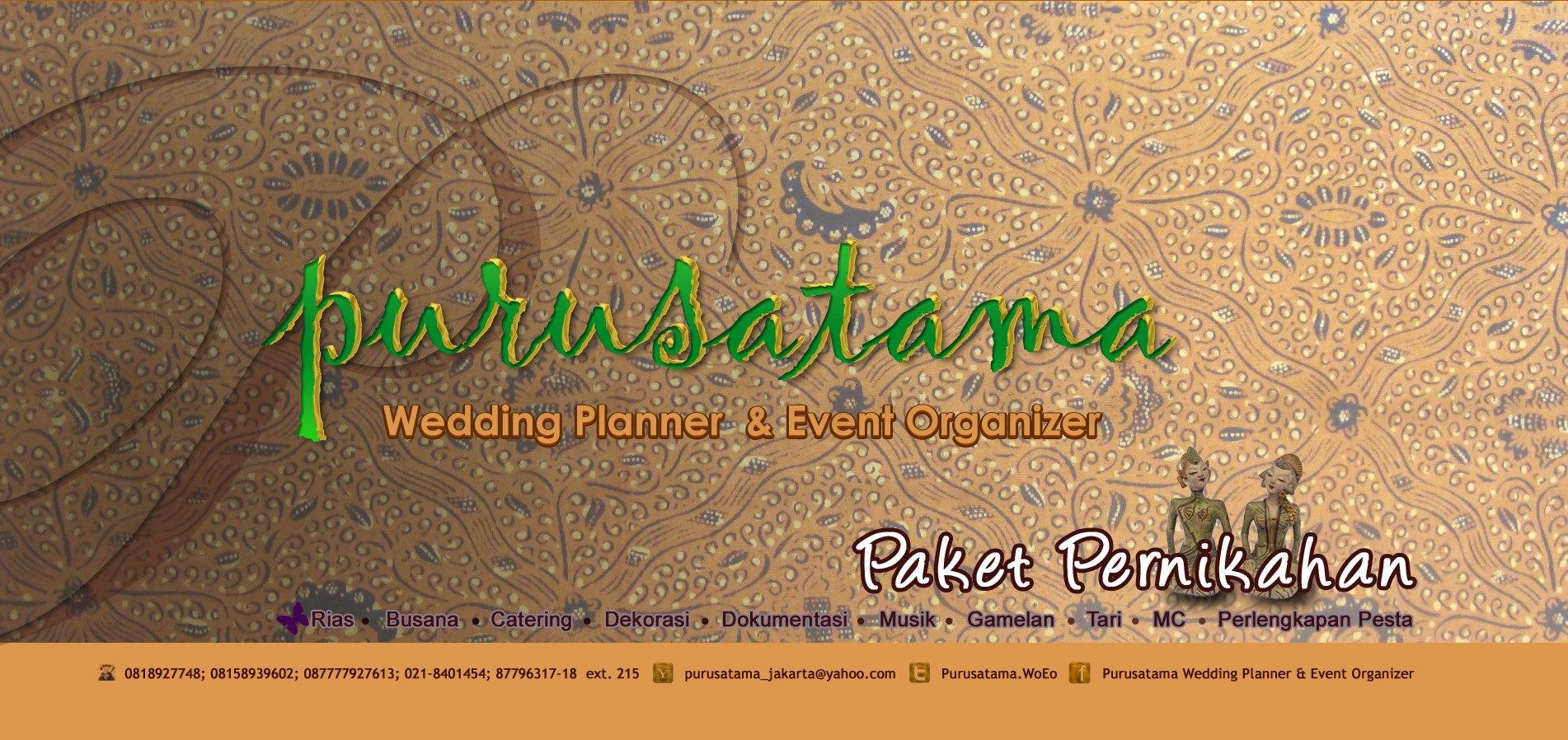 Purusatama Wedding Planner & Event Organizer