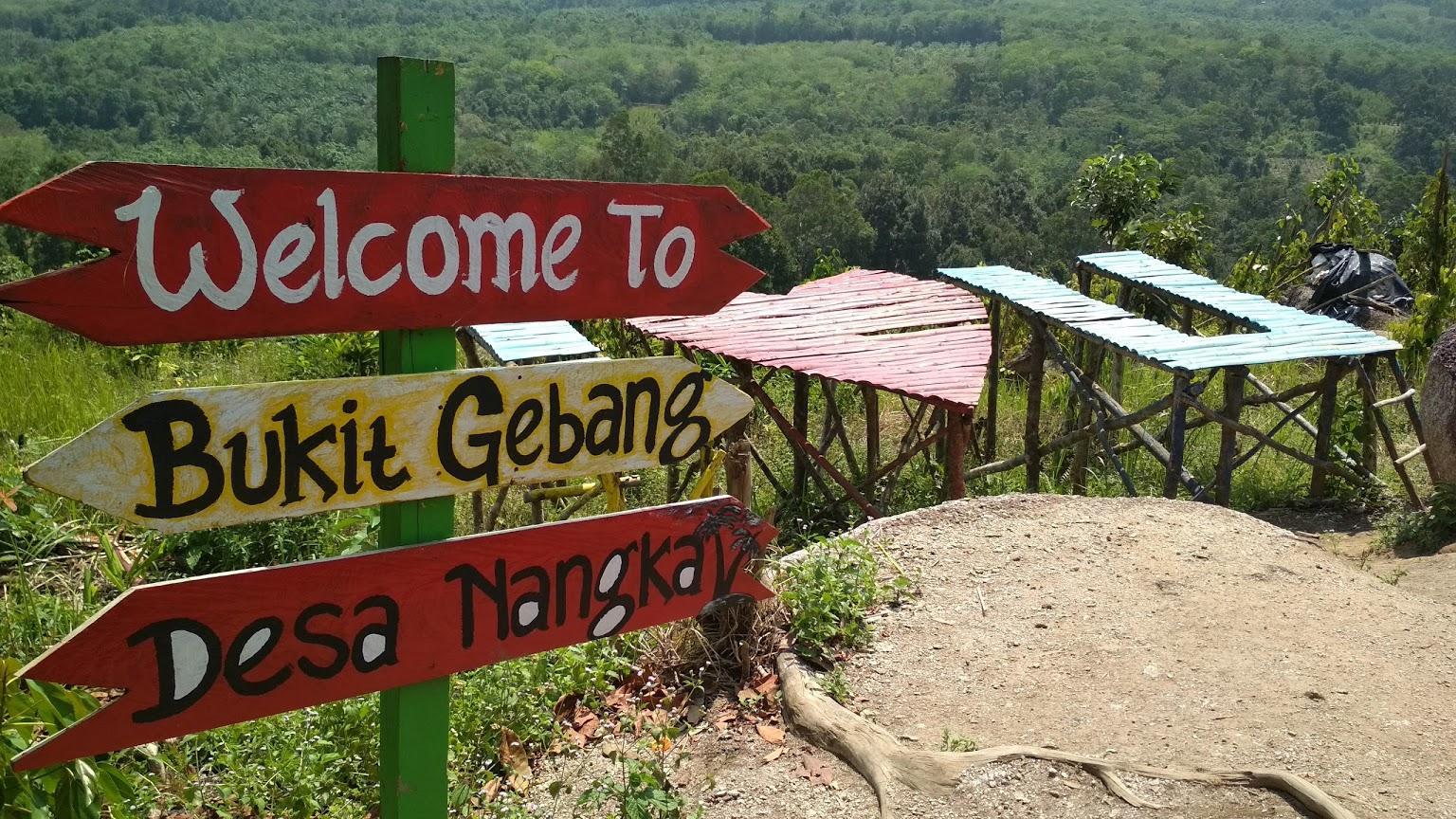 Bukit Gebang Desa Nangka