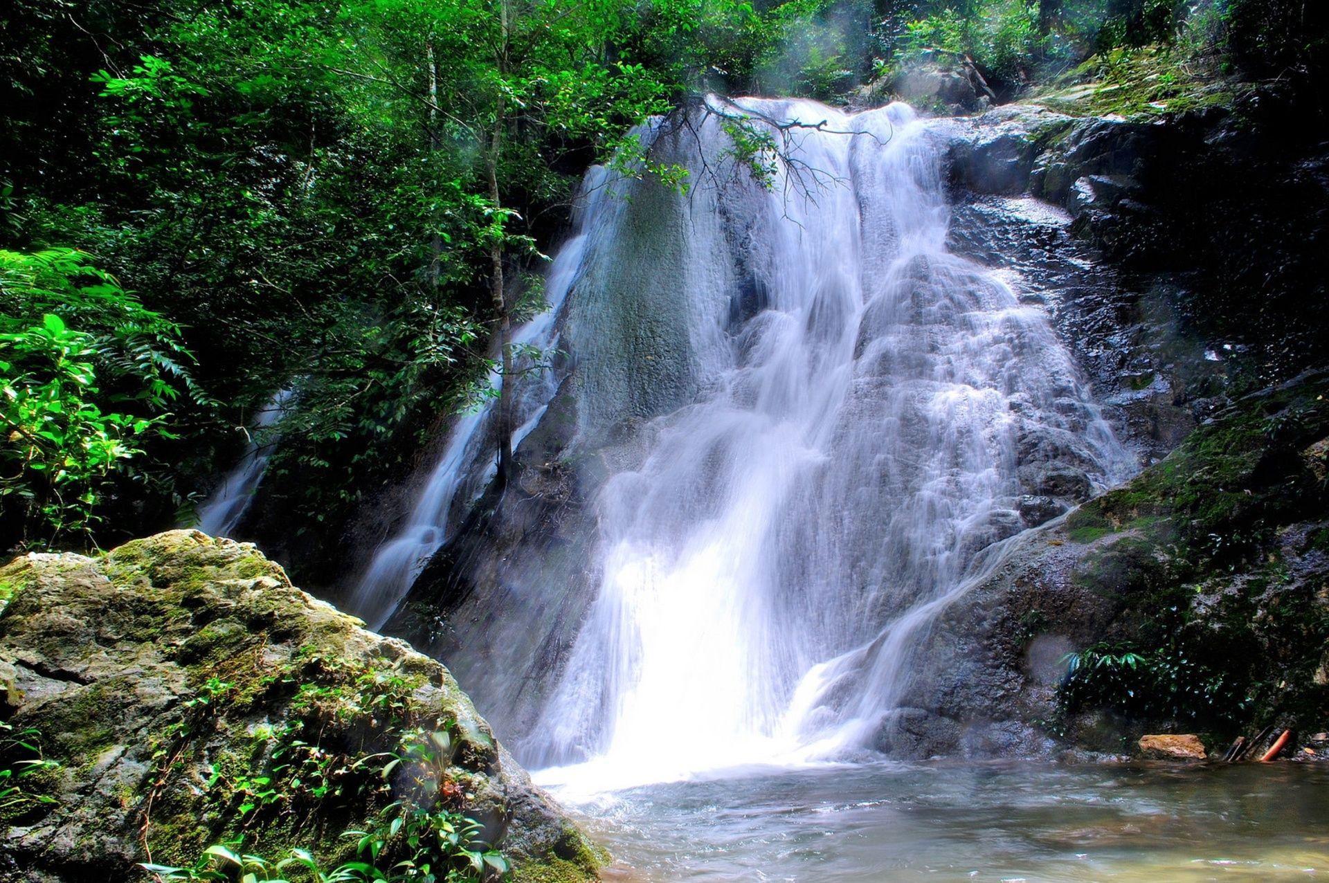 Kuta Malaka Waterfall