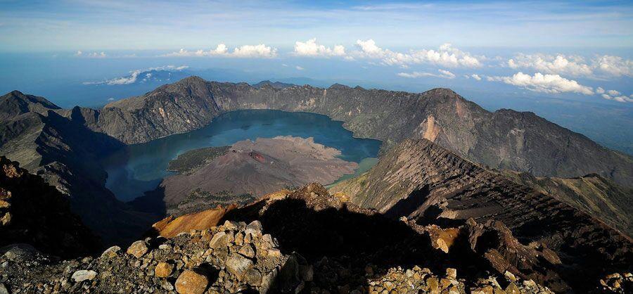 Mount Rinjani Peak