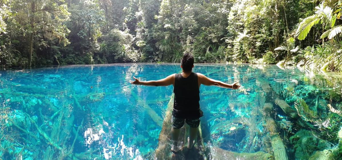 Samares Lake - Telaga Biru
