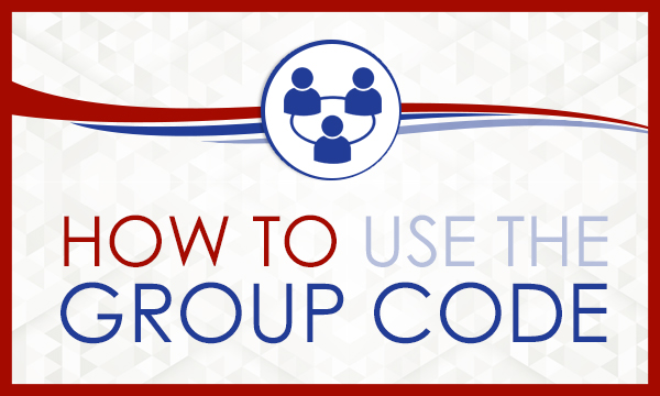 How to use the Group Code